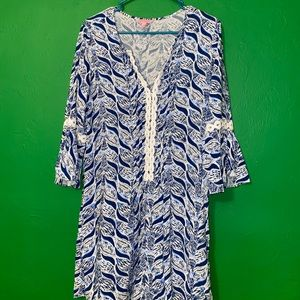 Lilly Pulitzer Mermaids Tail, Hollie Tunic
